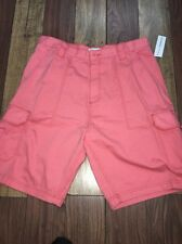 Rio Man Pink Cargo Shorts Size 40