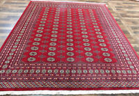 "8'3""x10' New Hand knotted Silky Wool Royal Bokhara Oriental Area rug"
