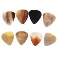 8 Pcs Guitar Pick Multi Colored Guitar Pick Horn Guitar Pick Guitar Parts