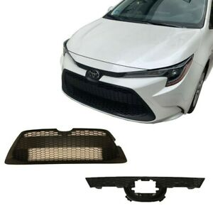 GRILLE FIT FOR TOYOTA COROLLA LE 2019-2021 Lower Upper Front Bumper OEM Genuine