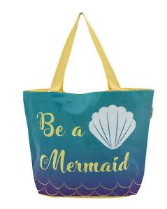 Be a Mermaid Holiday Large Beach Bag Shoulder Bag