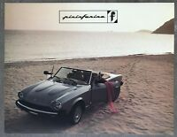 1984 Pininfarina original American sales brochure