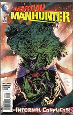 MARTIAN MANHUNTER #3 REGULAR COVER - EDDY BARROWS ART - 2015