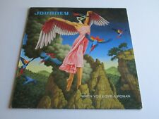 "JOURNEY When You Love a Woman Vinyl 12"" EP 45 RPM 4 Tracks 1996 Import"