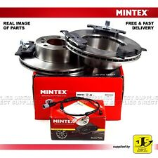 BMW 1 SERIES (F20) MINTEX FRONT BRAKE DISCS AND PADS WITH SENSOR 284mm Discs ATE