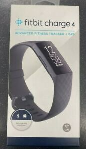 Fitbit Charge 4 Activity Fitness Tracker - Black**