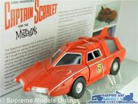 SPECTRUM SALOON SPC CAPTAIN SCARLET MODEL CAR 1:36 SIZE GERRY ANDERSON RED TV T4