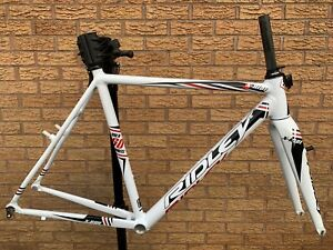 Ridley X-Ride Cyclocross Frameset Alloy Frame Carbon Fork White Black Red PMC