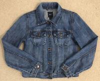 GAP KIDS size X-LARGE (12) XL Girls Cotton Blue Jean Denim Jacket