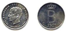 + BELGIQUE . BAUDOUIN . 250 FRANCS LEGENDE FRANCAISE . 1976