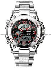 Chronograph Sport Herren Armbanduhr 45mm, Dual Display und VOLLAUSSTATTUNG 👍