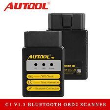 Autool C1 V1.5 Bluetooth OBD2 EOBD JOBD Scanner Code Reader Diagnostic Tool