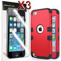 Heavy Duty High Impact Armor Case Cover Protective Case for Apple iPod Touch 5 6
