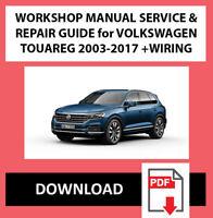 Automobilia VW Touareg PDF Workshop Service & Repair Manual 2003 ...