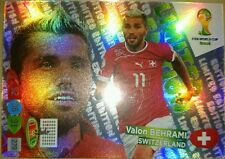 Valon Behrami Limited Edition Adrenalyn XL Brazil Brasil World Cup 2014 Rare New