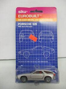 Siku Eurobuilt Porsche 911 with Opening Doors
