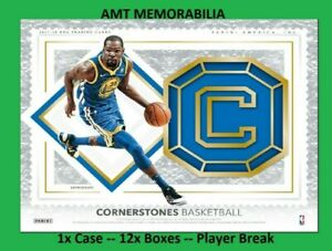 Kawhi Leonard Spurs 2017/18 Panini Cornerstones 1X CASE 12X BOX BREAK #2