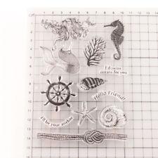 Clear Stamps Meerjungfrau Stempel Motivstempel Geschenk Scrapbooking Grußkarten