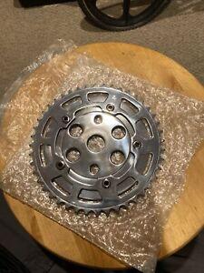 sr sakae bmx Gt Mongoose Oldschool Chain ring power disk 44t Polished Haro