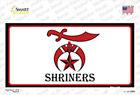 Shriners Logo Sticker Decal