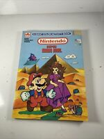 VINTAGE GOLDEN BOOK NINTENDO SUPER MARIO BROS. A Giant COLOR ACTIVITY BOOK 1989