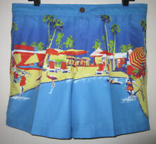 Ben Sherman Mens Digi Palm Print Swim Short