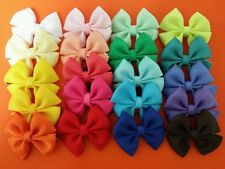 "20pcs 2.0"" Boutique Hair bows, Baby Infant Girls Handmade Alligator clips"