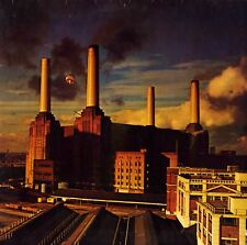 Pink Floyd Animals 1977 Album Cover Stretched Canvas Art Poster Print Music 70s