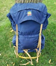 Vintage Bergans Of Norway External Frame Rucksack Hiking Camping Backpack