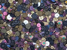 Mixed Lot of Vintage Fancy Buttons 15 oz ~400 Buttons 1950s 1960s