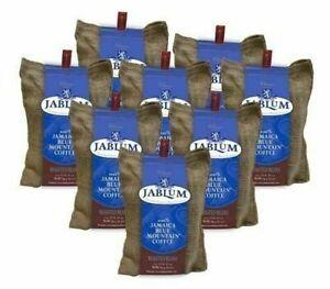 Jablum Jamaica Blue Mountain Coffee Roasted Whole Bean 16 oz Bag