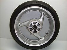 2012 12 08-17 Suzuki Hayabusa GSX1300R Rear Wheel Rim Tire Straight 2011