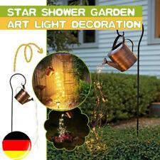 Garten Gießkanne Lichter Star Shower Lights Outdoor Wasserfall Lichterketten DE
