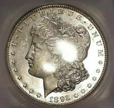 1892-CC MORGAN SILVER DOLLAR *ICG MS64*PROOF LIKE* AMAZING COIN* CLOSE TO DMPL*