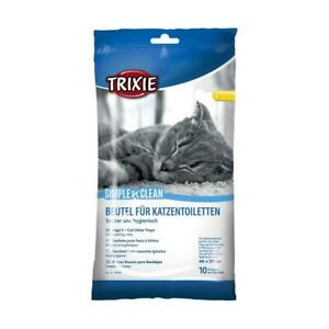 Trixie Cat Litter Tray Box Disposable Bags / Liners (10 / 20 / 60 /100) - L / XL