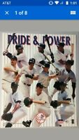 Yankees Pride & Power Vintage Poster Starline #5484 MLB 1998 Baseball New York