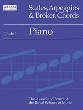 Scales, Arpeggios and Broken Chords: Piano: Grade 3 by Associated Board of the R