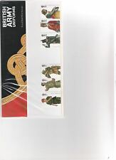 2007 ROYAL MAIL PRESENTATION PACK BRITISH ARMY UNIFORMS