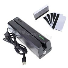 HiCo Magnetic Strip Card Writer Encoder Reader Mag ID Club Comp. MSR206 MSR606