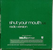GARBAGE Shut Your Mouth PROMO CD si in special sleeve