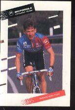 BRIAN WALTON cyclisme carte postale cp Cycling vélo ciclismo MOTOROLA 92