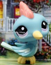 ❃ LITTLEST PET SHOP ❃ BLUE & YELLOW WOODPECKER #1787 ❃ NEW ❃ RED CRESTED BIRD ❃