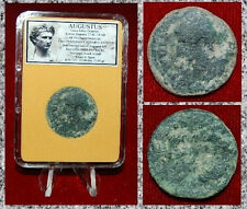 Roman Empire Coin AUGUSTUS Struck In COLONIA PATRICIA,SPAIN AUGUSTUS On Obverse