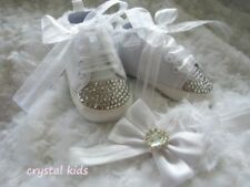 Handmade First Baby Shoes with Laces