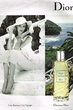 E- Publicité Advertising 2008 Parfum Escale à Portofino de Dior