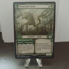 Mtg Throne of Eldrane Beanstalk Giant individual collectible tradable card game