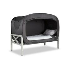 Privacy Pop Bed Tent twin xl in black