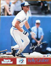 1986 Sports Illustrated Blue Jays' Kelly Gruber Poster