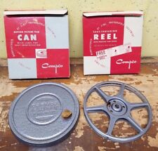"Vintage Compco Motion Picture Can and Reel and 7"" 1 Reel and 1 Can New in Box"