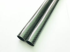 2pcs 10MM X 8MM X 500MM Carbon fiber Wing tube For Multicopter arm DIY 3M tape